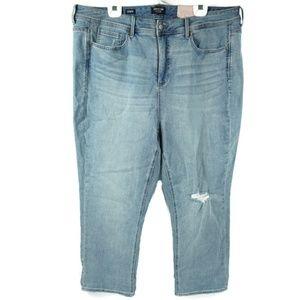 NYDJ Curve 360 Womens Denim Jeans 22 Shape Slim